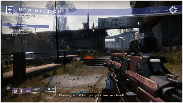 Destiny 2 Risk/Reward Mission