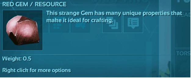 ARK Red Gems
