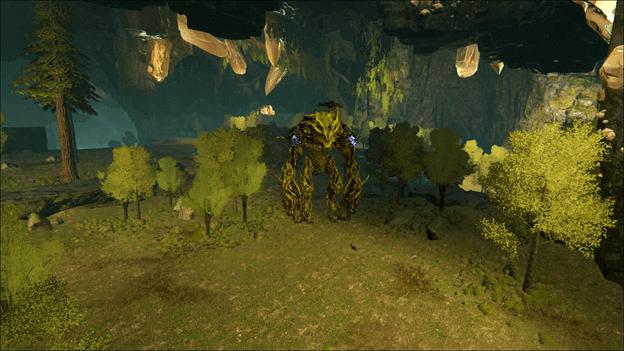 ARK Forest Titan Boss