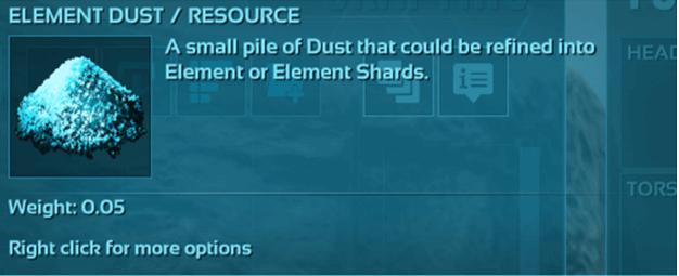 ARK Element Dust